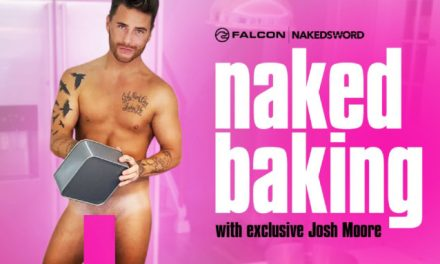 Josh Moore is a Snack in 'Naked Baking' on NakedSword