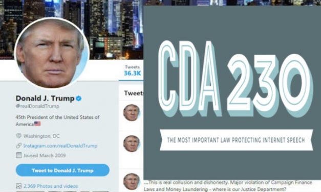 Trump Executive Order Draft Targets Section 230, the 'First Amendment of the Internet'
