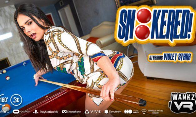 Violet Starr Wins Big in WankzVR's 'Snookered!'