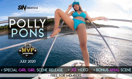 Polly Pons grabs it all this month