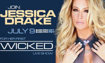 Jessica Drake to Host Live Show Tomorrow on Wicked.com