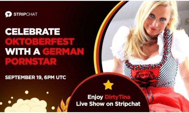 DirtyTina Celebrates Oktoberfest With Cam Show on Stripchat