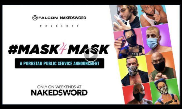 Falcon/NakedSword Drops Star-Studded 'Mask4Mask' PSA