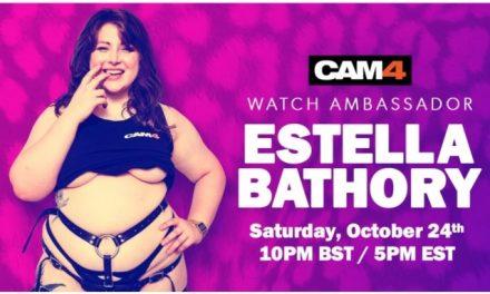 Estella Bathory Signs With CAM4 as Newest U.K. Ambassador