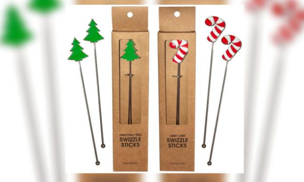 Kheper Adds New Swizzle Stick Sets to Holiday Retail Offerings