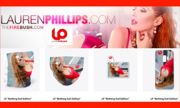 Lauren Phillips Launches Online Merch Store