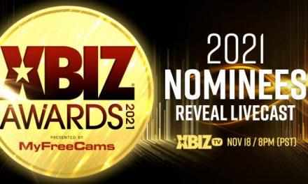 2021 XBIZ Awards Nominees Reveal Livecast Tomorrow on XBIZ.tv