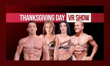 DreamCam, SexLikeReal Team for Live VR Thanksgiving Special