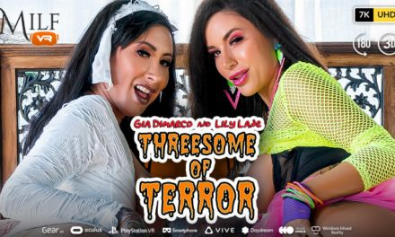 MILF VR Releases 'Threesome of Terror' With Gia DiMarco, Lily Lane