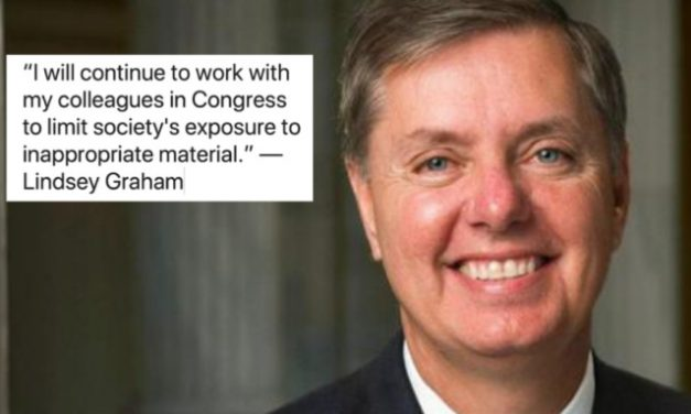 Lindsey Graham Admits Goal Is to 'Limit' Access to Porn
