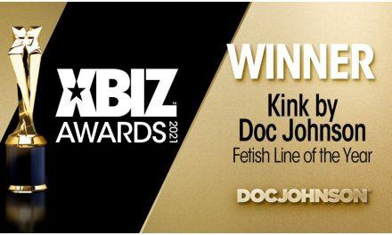 Doc Johnson Celebrates 2021 XBIZ Award for 'Fetish Line of the Year'