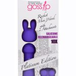 Gossip Rocket Mini Wand with 2 Attachments – Curve Toys