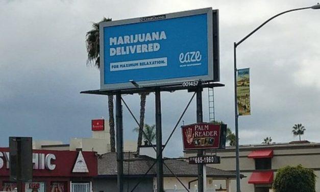 Judge: California has 30 days to inform marijuana firms about billboard ban