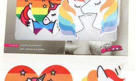 Peekaboos Multicolor Unicorn Pasties – XGen Products