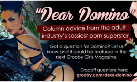 Domino Presley to Pen Advice Column for Grooby Girls