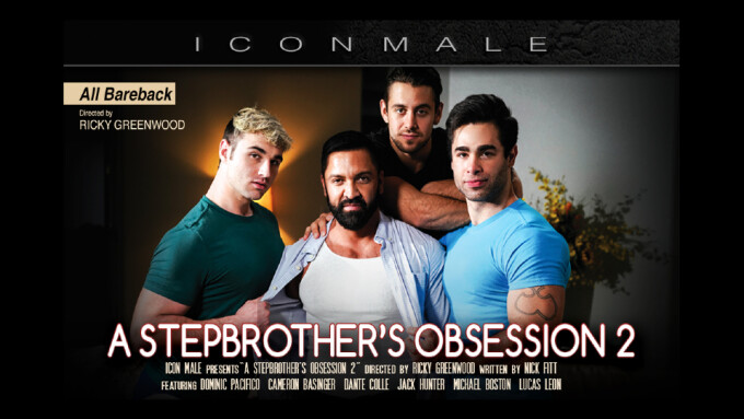 Icon Male Explores Taboo Passion in 'A Stepbrother's Obsession 2'